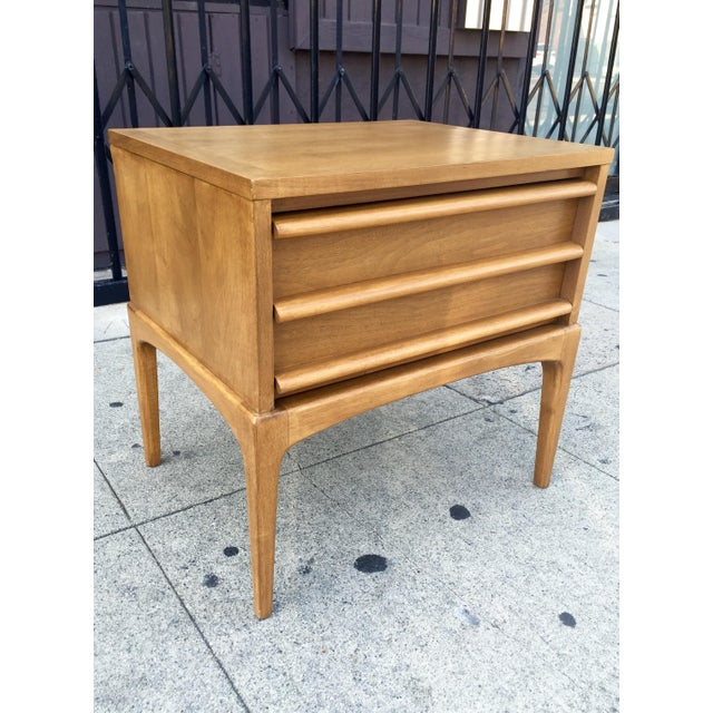 Mid-Century Lane Rhythm End Table Nightstand - Image 2 of 10