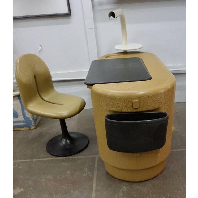 1970s Polyurethane Desk by Ernst Igl For Sale - Image 5 of 10