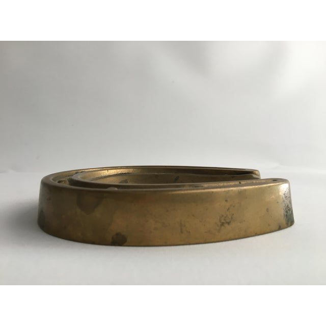 1950s Brass Horseshoe Ashtray or Dish For Sale In Los Angeles - Image 6 of 8