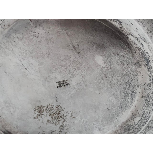 Sanborns Mexican Sterling Silver Ice Bucket With Tongs and Tray For Sale - Image 9 of 13