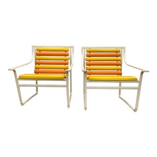 1960s Samsonite Patio Chairs - a Pair For Sale