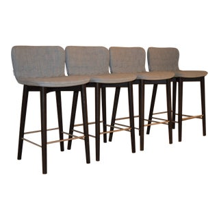 Modern Sancal Tea Counter Stools - Set of 4 For Sale