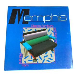 Vintage 1985 Hardcover Book Memphis: Objects and Patterns by Richard Horn For Sale