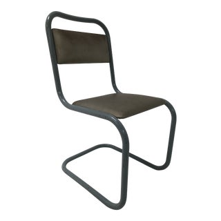 1940s Vintage Mart Stam Style Chair For Sale
