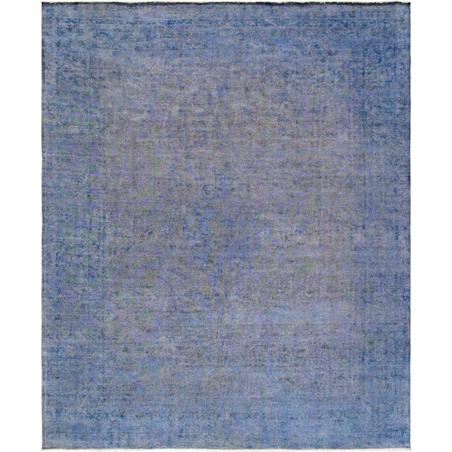 "Transitional Modern Pasargad Overdye Lamb's Wool Area Rug- 10' 1"" X 12' 6"" For Sale - Image 3 of 3"