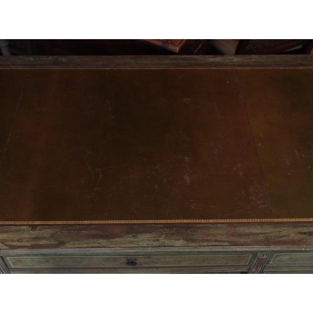 """French Revolution"" Polychrome Desk For Sale In New Orleans - Image 6 of 9"