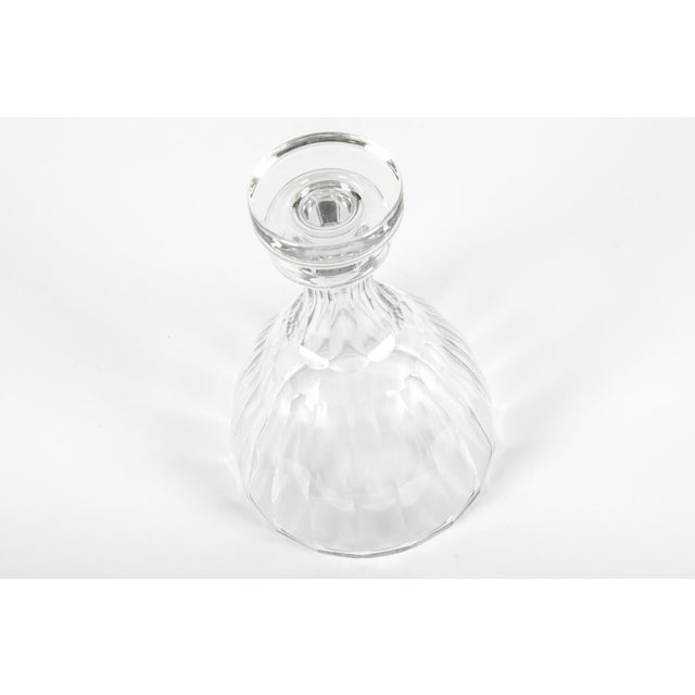 Contemporary 1960s Acid Etched Baccarat Decanter For Sale - Image 3 of 8