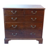 Image of 18th Century Georgian Mahogany Chest of Drawers For Sale