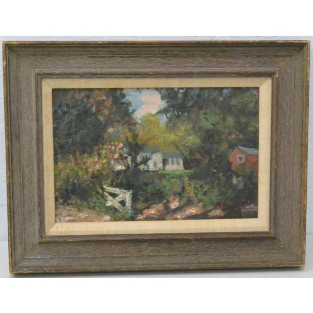New England Country Home Oil Painting by Bernard Lennon - Image 2 of 5