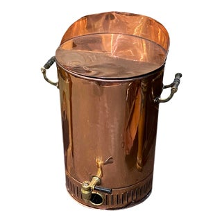 19th Century Copper Water Urn For Sale