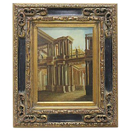 Greece Signed Oil Painting - Image 1 of 3