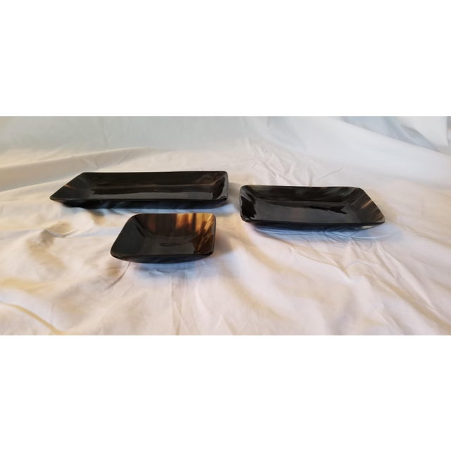 2010s Contemporary Lewes Rectangular Trays - Set of 3 For Sale - Image 5 of 8