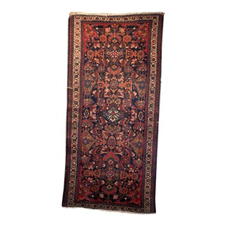 Vintage Mid-Century Persian Kashan Rug - 2′8″ × 5′10″ For Sale