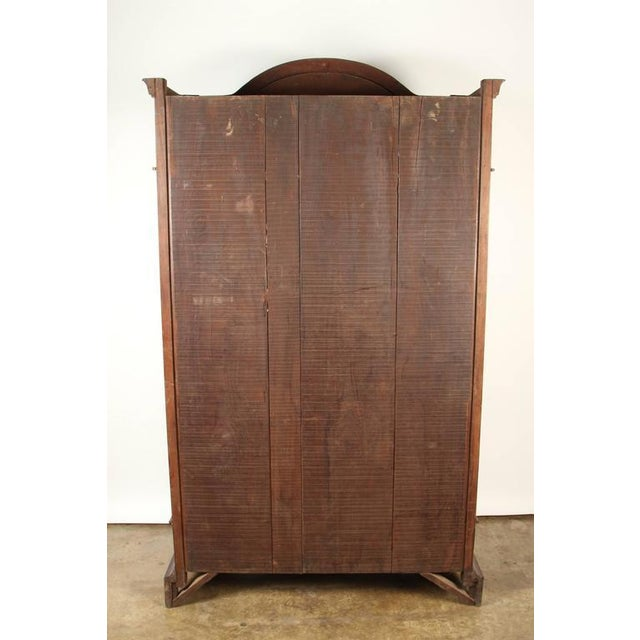 Colonial Rosewood Cabinet with Mother-of-Pearl For Sale - Image 10 of 10