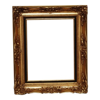 Vintage French Louis XVI Style Gold Picture Frame For Sale