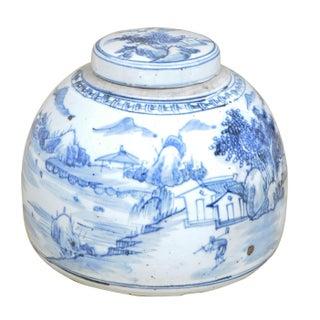 Village Ceramic Lidded Urn Preview