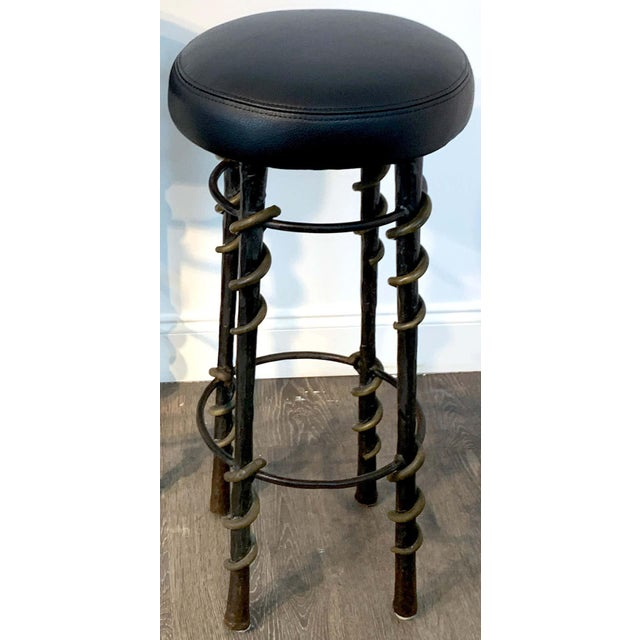 Cobra' Stools by Karl Springe - a Pair For Sale In West Palm - Image 6 of 10
