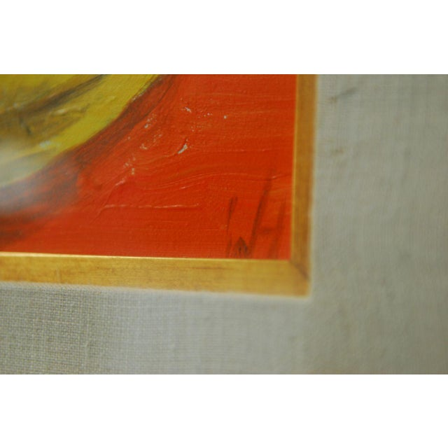 Andy Warhol Style Banana Oil Painting - Image 4 of 9