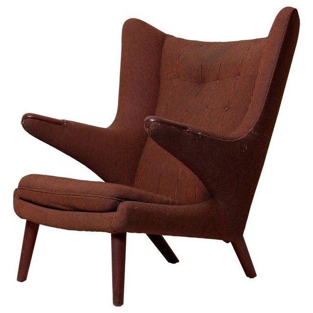 Hans J. Wegner Papa Bear Chair For Sale - Image 12 of 12