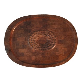 Vintage Mid-Century Modern Digsmed Danish Cutting Board For Sale