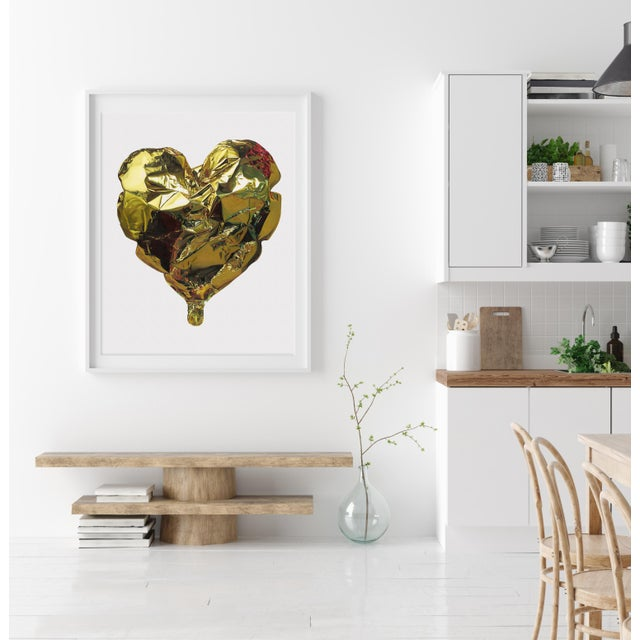 """A beautiful giclée print of an original coloured pencil drawing, """"Heart of Gold"""" is one of five large drawings by Jack..."""