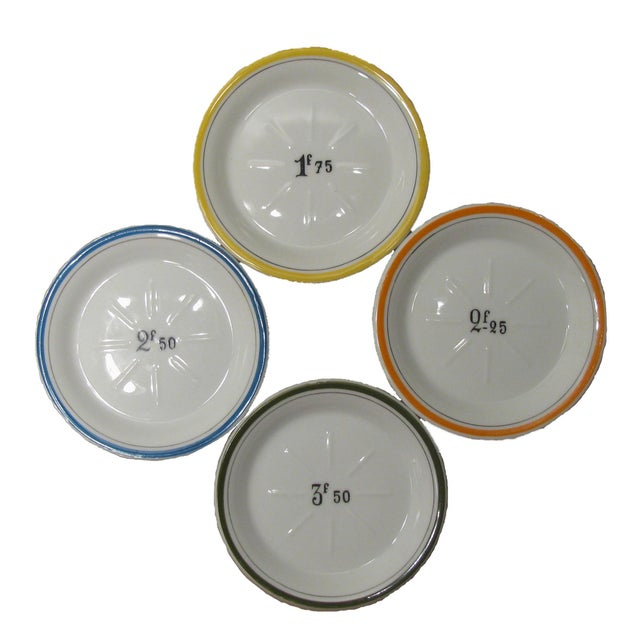 French Bistro Change Plates - Set of 4 - Image 2 of 3