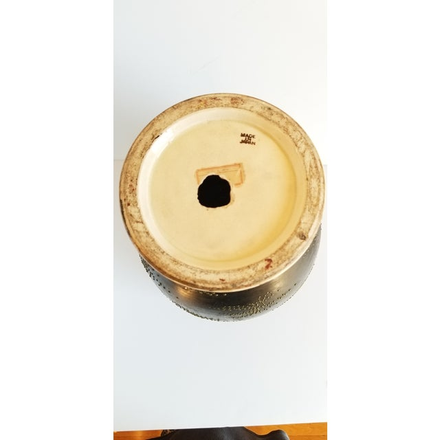 Asian Early 20th Century Satsuma Century Japanese Vase For Sale - Image 3 of 13