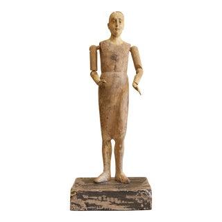19th Century Spanish Santo Figure For Sale