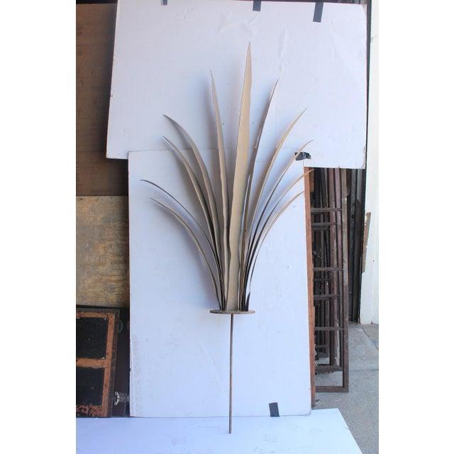 Mid Century Hand Made Garden Metal Sculpture