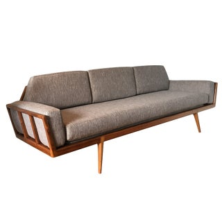 Mel Smilow Rail Back Sofa For Sale