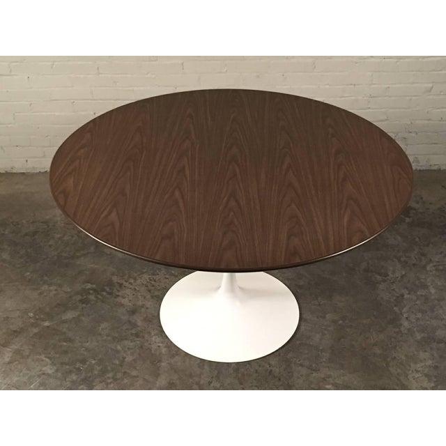 Burke Mid-Century Modern Tulip Based Dining Table - Image 3 of 6