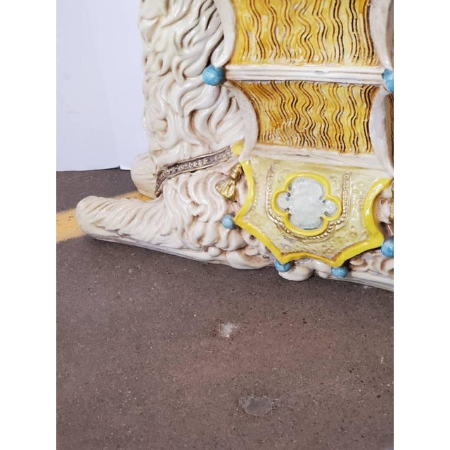 Ivory Vintage Indoor Llama Figural Planter For Sale - Image 8 of 11
