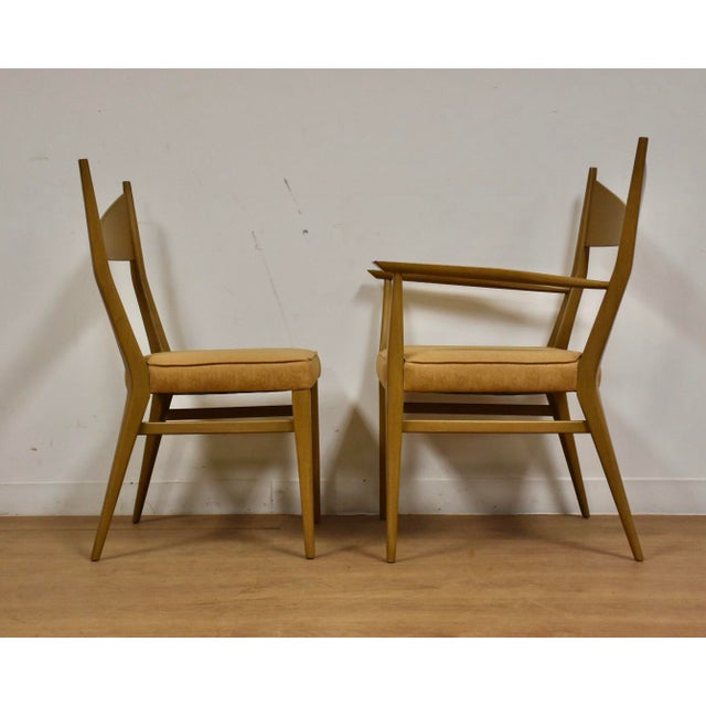 Dining Table and Chairs by Paul McCobb - Set of 7 For Sale - Image 10 of 13