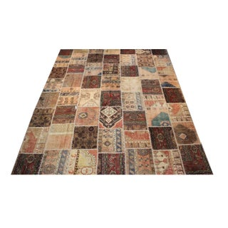 Anatolian Patchwork Rug - 9′4″ × 11′10″ For Sale