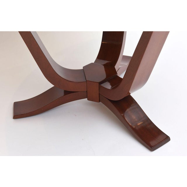 Late Art Deco Mahogany Occasional Table For Sale In Miami - Image 6 of 9