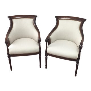 Vintage Sheraton Chairs - Pair