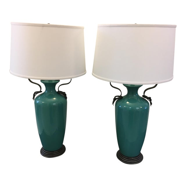 Vintage Frederick Cooper Lamps - A Pair - Image 1 of 5