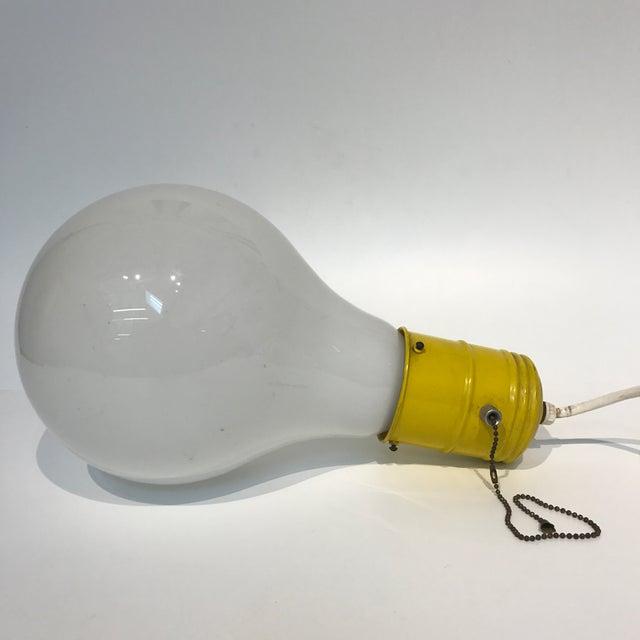 Pop Art Lightbulb Lamp - Image 3 of 5