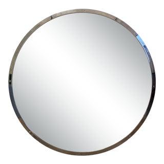 Restoration Hardware Round Bistro Mirror For Sale