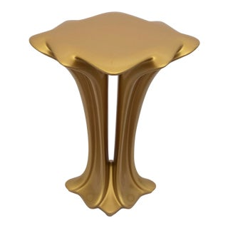 Accent Table No. 4 by Chris Delmar in Gold For Sale