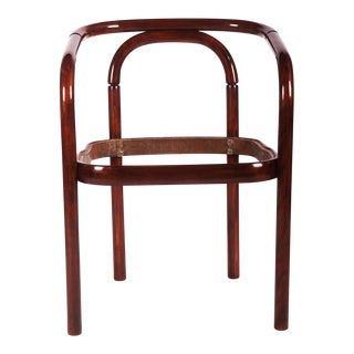Vintage beechwood chair by TON