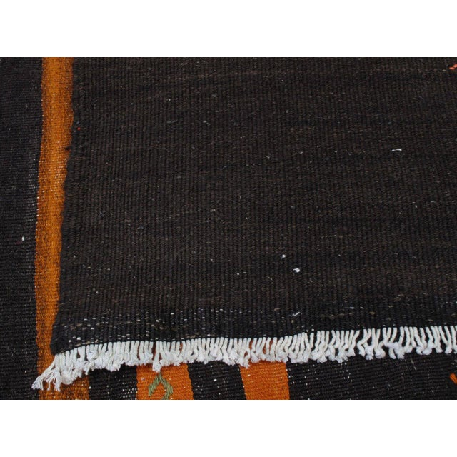 Two-Panel Kilim with Stripes For Sale - Image 9 of 9