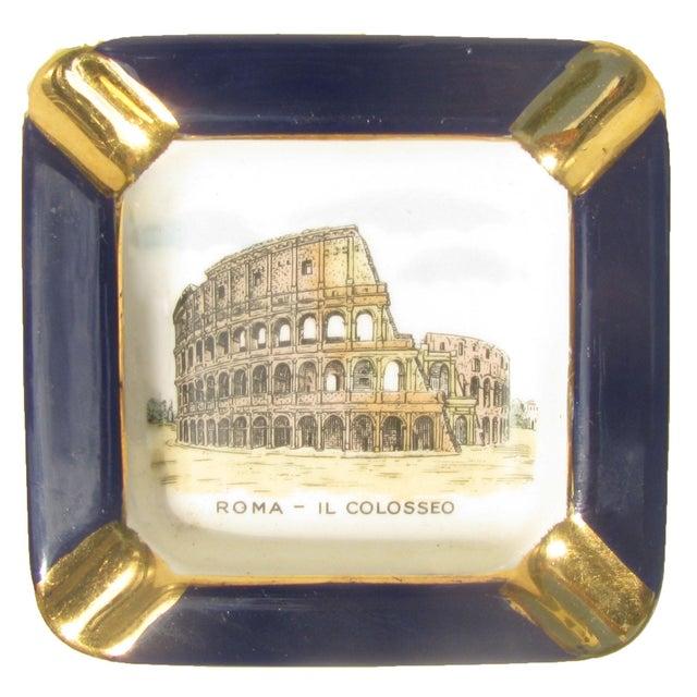 Midcentury Italian Souvenir Ashtray For Sale - Image 4 of 4