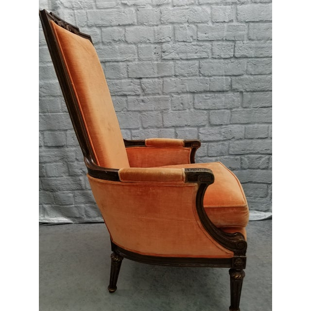 Hibriten 1920s Traditional Hibriten Eastlake Style Chair For Sale - Image 4 of 10