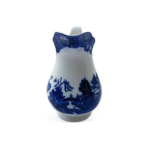 Antique English Willow Porcelain Jug - Image 2 of 4