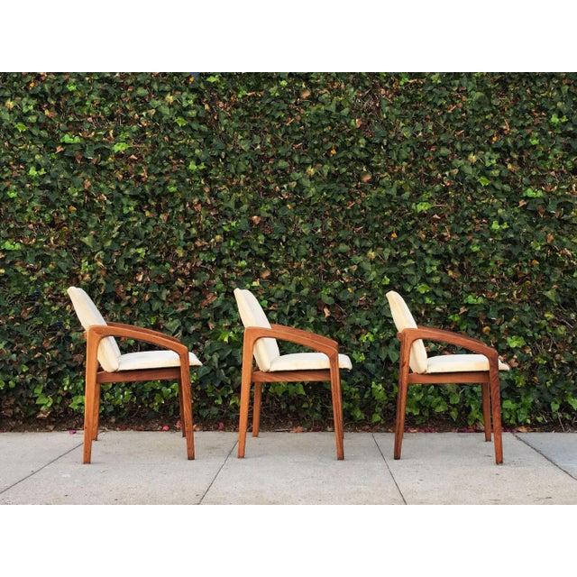 Kai Kristiansen for Korup Stolefabrik Mid-Century Modern Carver Rosewood Dining Chairs - Set of 6 - Image 4 of 7