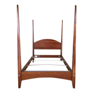 Ethan Allen American Impressions Solid Cherry Double Pencil Poster Bed