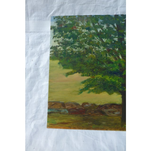MCM Painting of Large Tree by H.L. Musgrave - Image 3 of 6