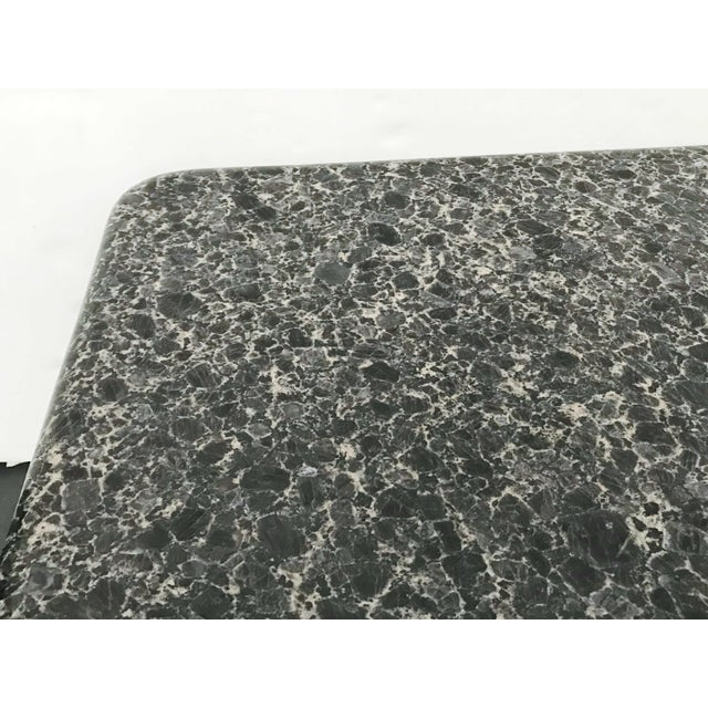 Mid-Century Granite Coffee Table For Sale - Image 9 of 11