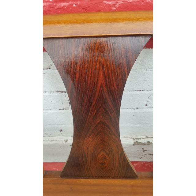 Vintage Mid-Century Kent Coffey Perspecta King Walnut Headboard For Sale - Image 4 of 9